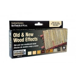 MODEL AIR OLD & NEW WOOD EFFECTS SET