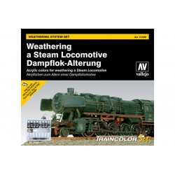 Vallejo 73099 Weathering Steam Locomotive