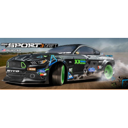 HPI DRIFT RS4 SPORT 3 VGJR FORD MUSTANG 1:10, 4WD R/C