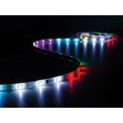 LED stripsæt (IP61) - Animeret, 150 RGB LED m. styring (5m)