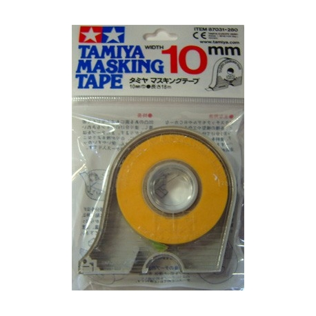 Tamiya Masking Tape m/dispenser 10mm