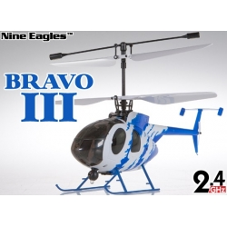 Nine Eagles 312A Bravo III m. alu kuffert