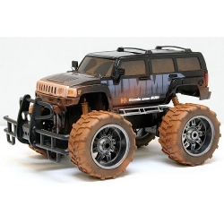 New Bright Mud Slinger Hummer H3 1:10