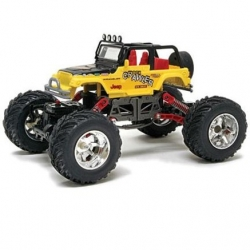 New Bright Rock Crawler Jeep 1:18