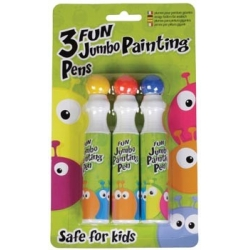 Fun coloured jumbo painting 3stk