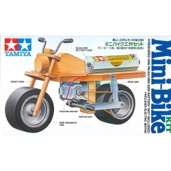 Mini Bike træ kit fra Tamiya