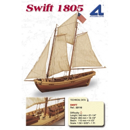 Swift modelskib
