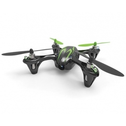 Hubsan HD camera Quadrocopter 4 ch.incl.sort/grøn