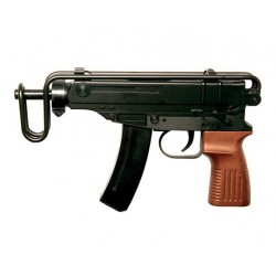 CZ SCORPION Vz61, sort, hop-up manuel, ASG,