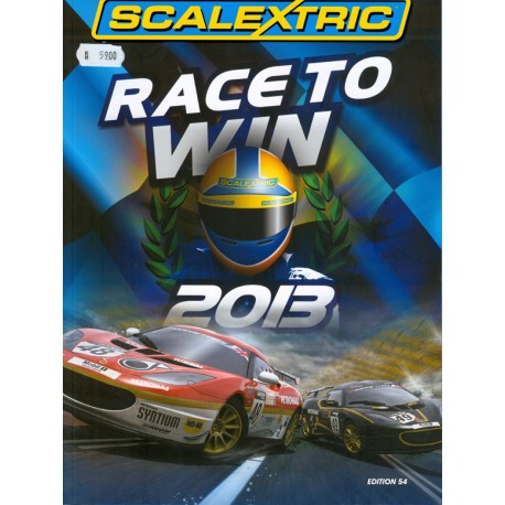 Scalextrics 2013 katalog