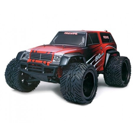 Firewipe Monster Truck 4 WD 1:12 (rød/sort)