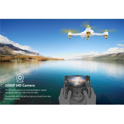 Hubsan H501S X4 FPV Quadcopter brushless sort/guld