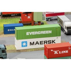 40' Hi-Cube Container EVERGREEN
