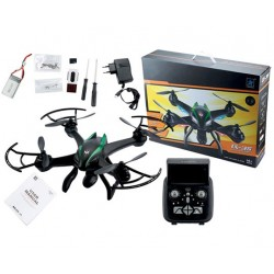 Leopard CX-35 Quadcopter Sort m/HD FPV Camera