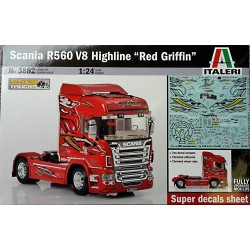 "Scania R560 V8 Highline ""Red Griffin"""