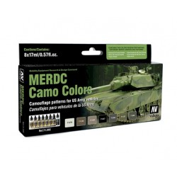 MERDC CAMO COLORS 8X17ML